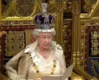 State Opening of Parliament The Queen in House of Lords
