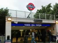 Entrance Tower Hill Tube Station